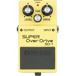 Boss SD-1 Super Overdrive MIJ Vintage 80s Black Label
